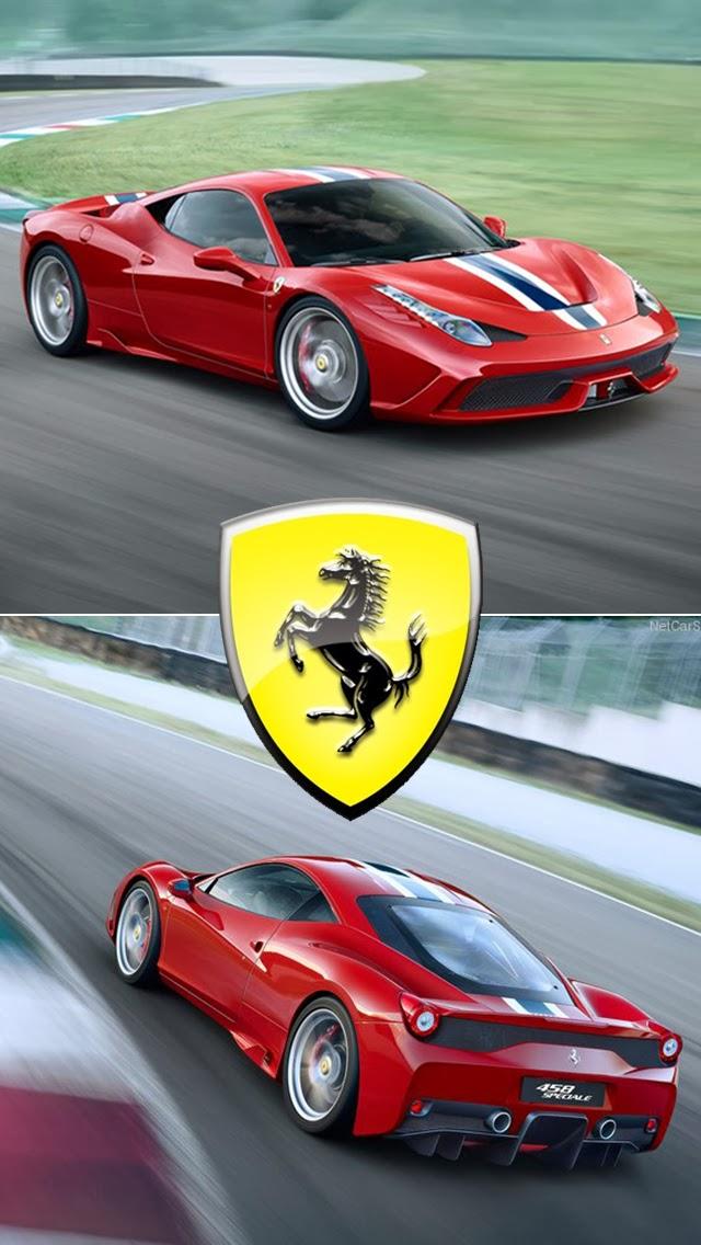 Ferrari 458 Speciale iPhone 5S Wallpaper | iPhone 5 ...