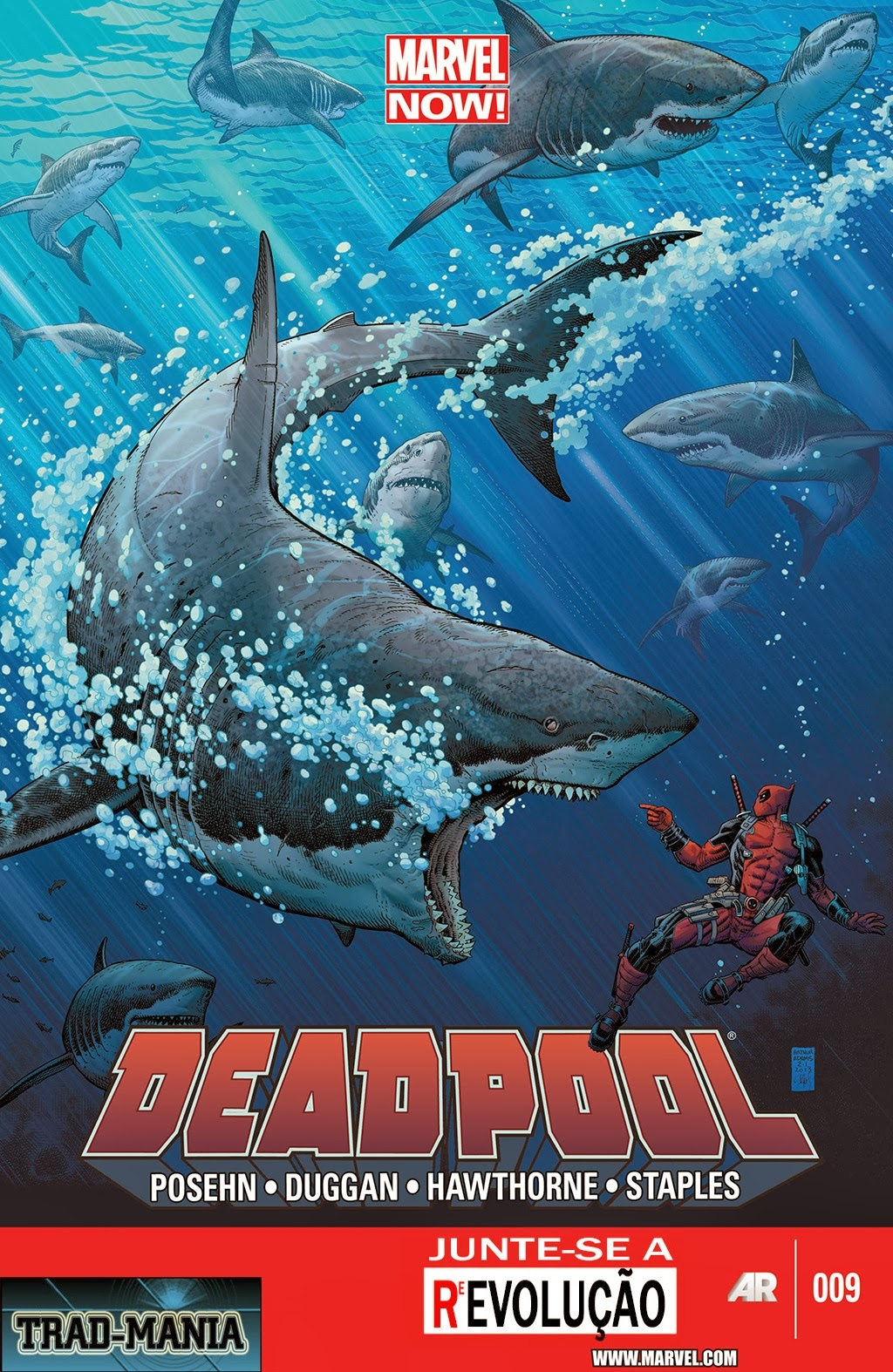Nova Marvel! Deadpool v5 #9