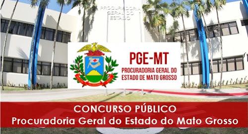 Apostila Concurso PGE-MT 2016