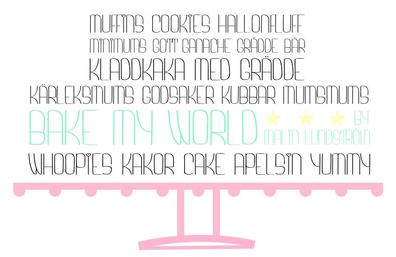 Bake My World by Malin Lundström