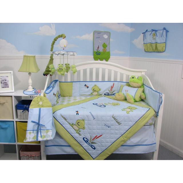 Frog Baby Bedding Crib Sets Soho Emily The