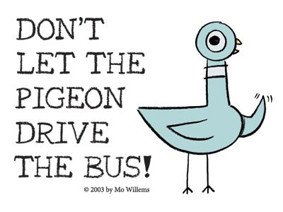 Mo Willems Doodles DONT LET THE PIGEON play in Milwaukee