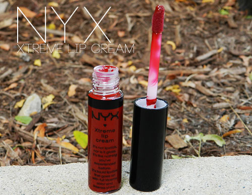 nyx absolute red