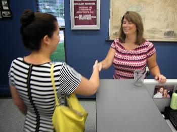 Elise Stefanik Visits Clerk Ann Saunders
