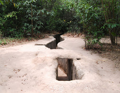 Discovering Cu Chi Tunnel - Relic of war