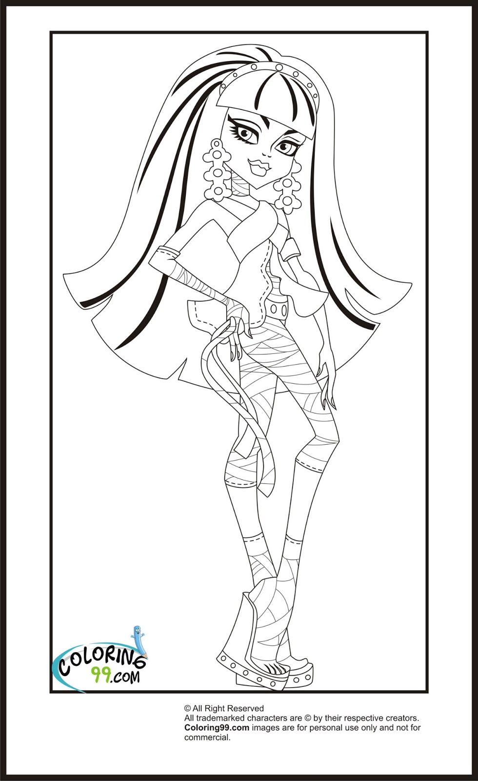 Nile River Coloring Pages