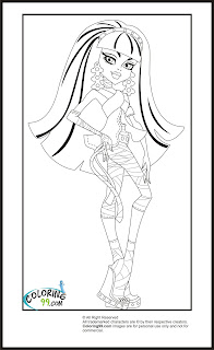 ... and cool. You must love coloring every coloring page of her