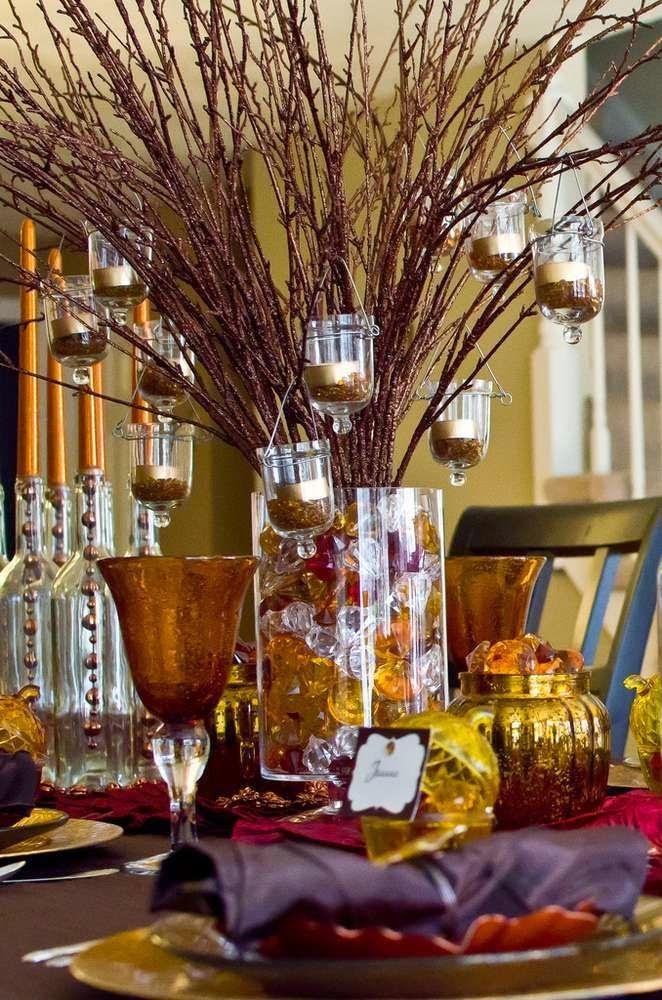 Fiesta de Acción de Gracias - Thanksgiving Party Ideas
