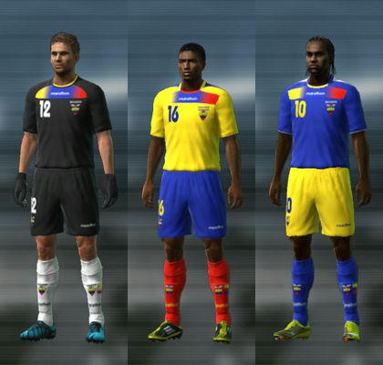 Ecuador 11/12 Kit Set by jvinu2000