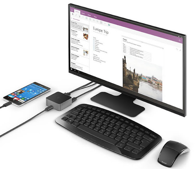 Microsoft Display Dock and Lumia 950 XL