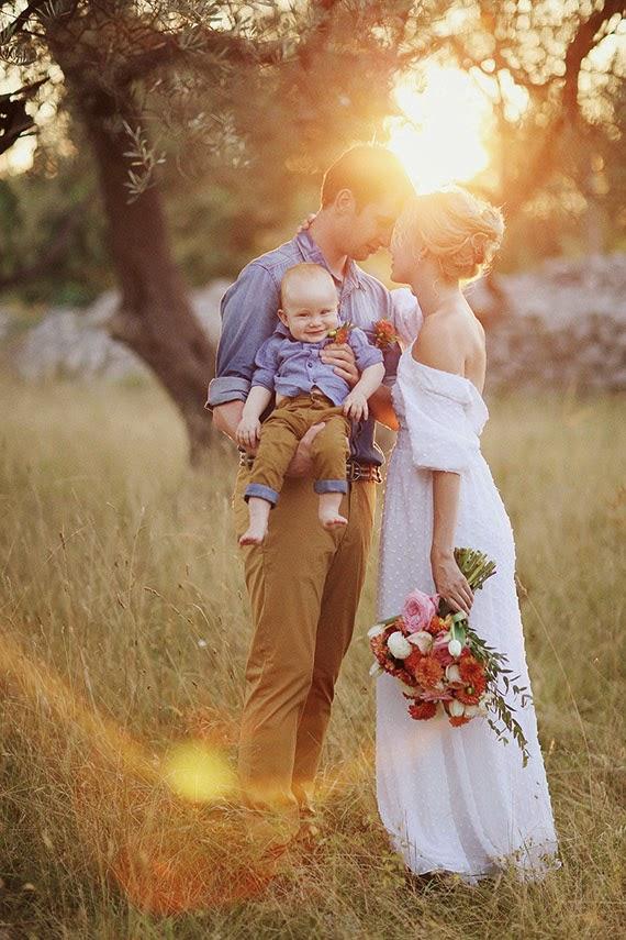 casar e baptizar no mesmo dia