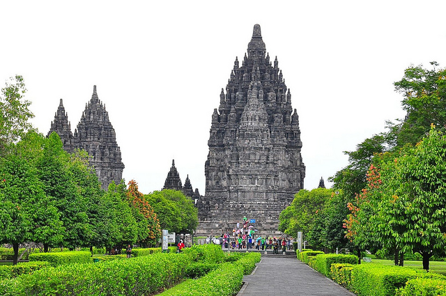 As belezas do Templo Prambanan