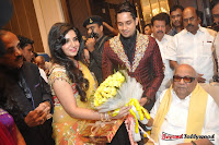Celebraties at Actor Bharat n Jessy Wedding Reception Photos+%252836%2529 Actor Bharath n Jessy Wedding Photos