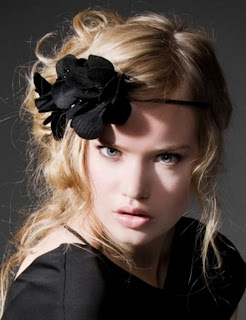Glam Bridesmaid Hairstyles 2012