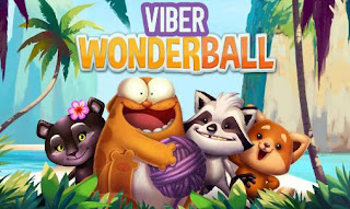 Screenshots of the Viber wonderball for Android tablet, phone.
