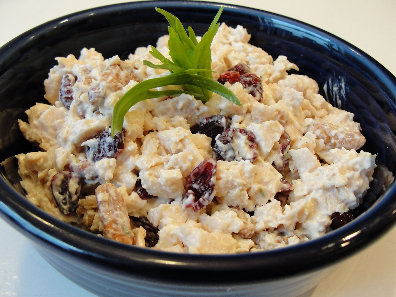 ... thyme to cook...: Chicken Salad with Tarragon, Pecans and Cranberries