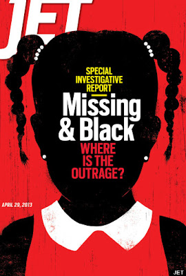 Jet Magazine Cover on Missing Black Kids