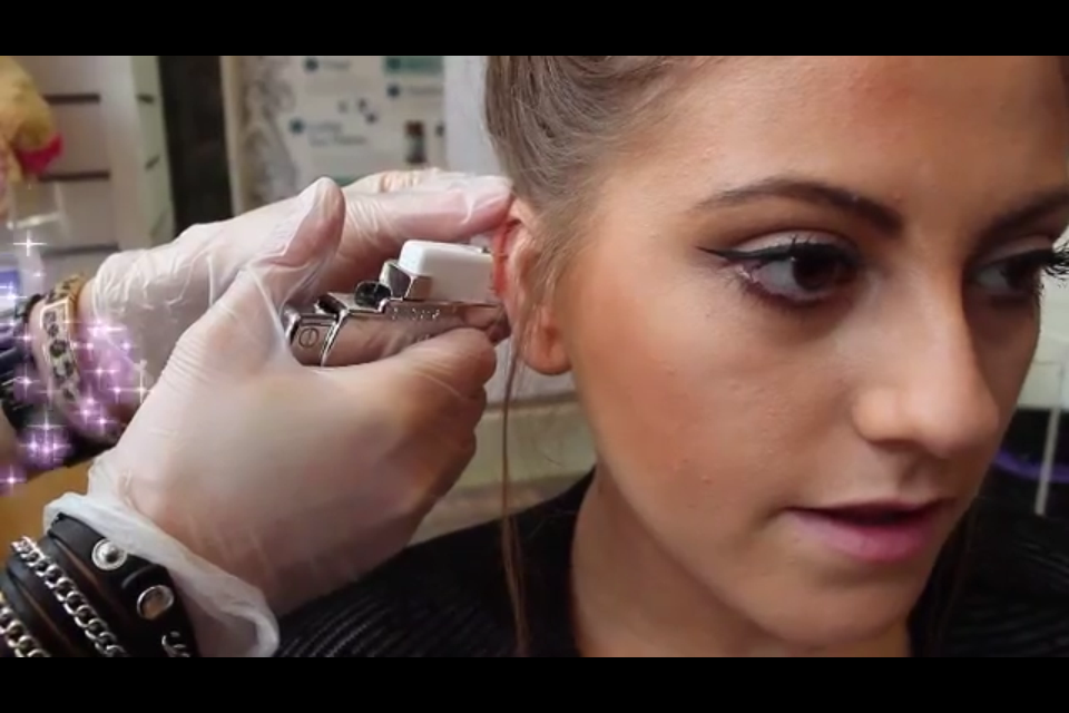 Ear Piercing at Claire's - Street Style and Smile