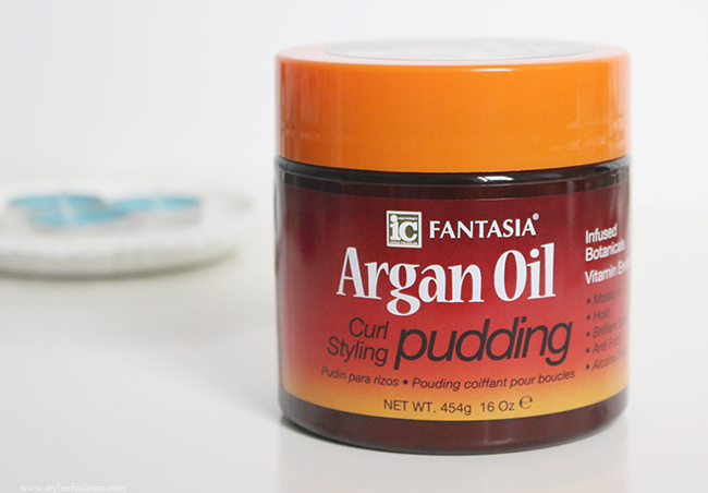 Fantasia Argan Oil Curl Styling Pudding