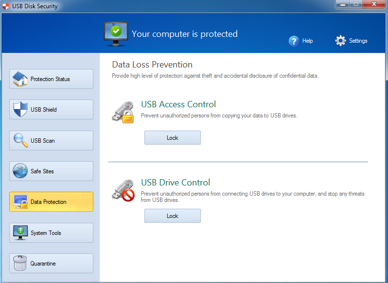 USB Disk Security 6.5.0.0 screenhot by www.ifub.net