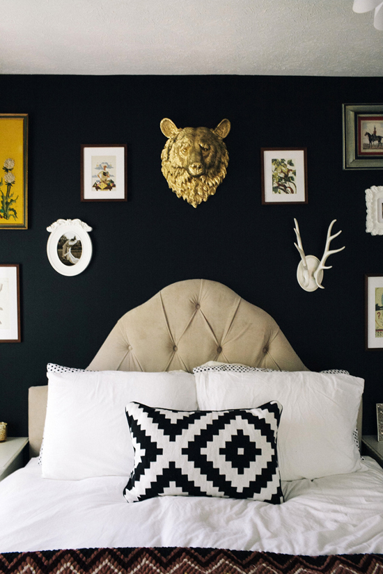 The home of Tatianna of Flora & Fauna. Photos © Yvonne Rock via Style Me Pretty.