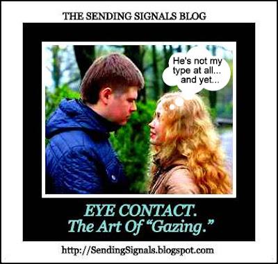 Sexual eye contact