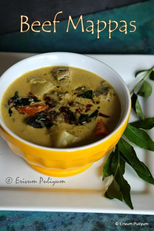 nadan beef mappas | kerala style beef cooked in coconut milk