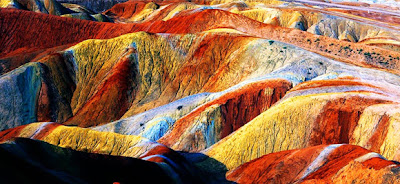 The Danxia landform - China