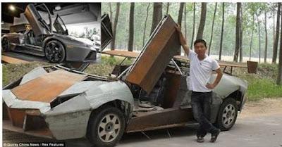 Lamborghini Reventón karya Seorang Petani