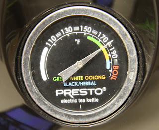 electric teakettle temperature gauge