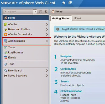 vSphere 5.5 Upgrade Part 7 - Configuring vCenter Single Sign-on