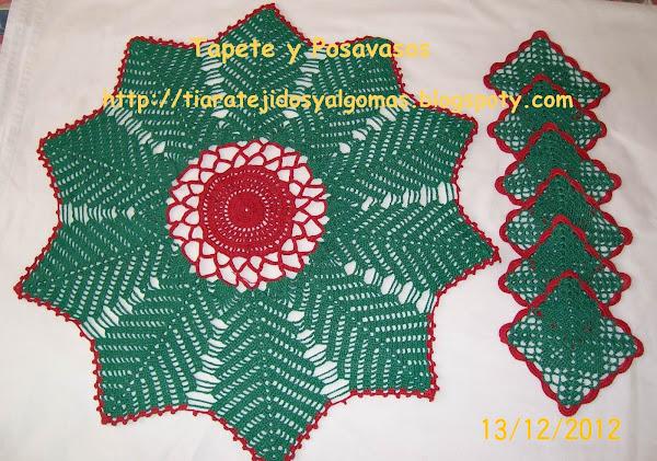 tapetes crochet | Aprender manualidades es facilisimo.