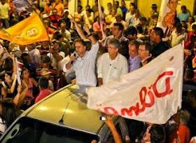 Lucélio Cartaxo participa hoje de comício com Dilma e Lula