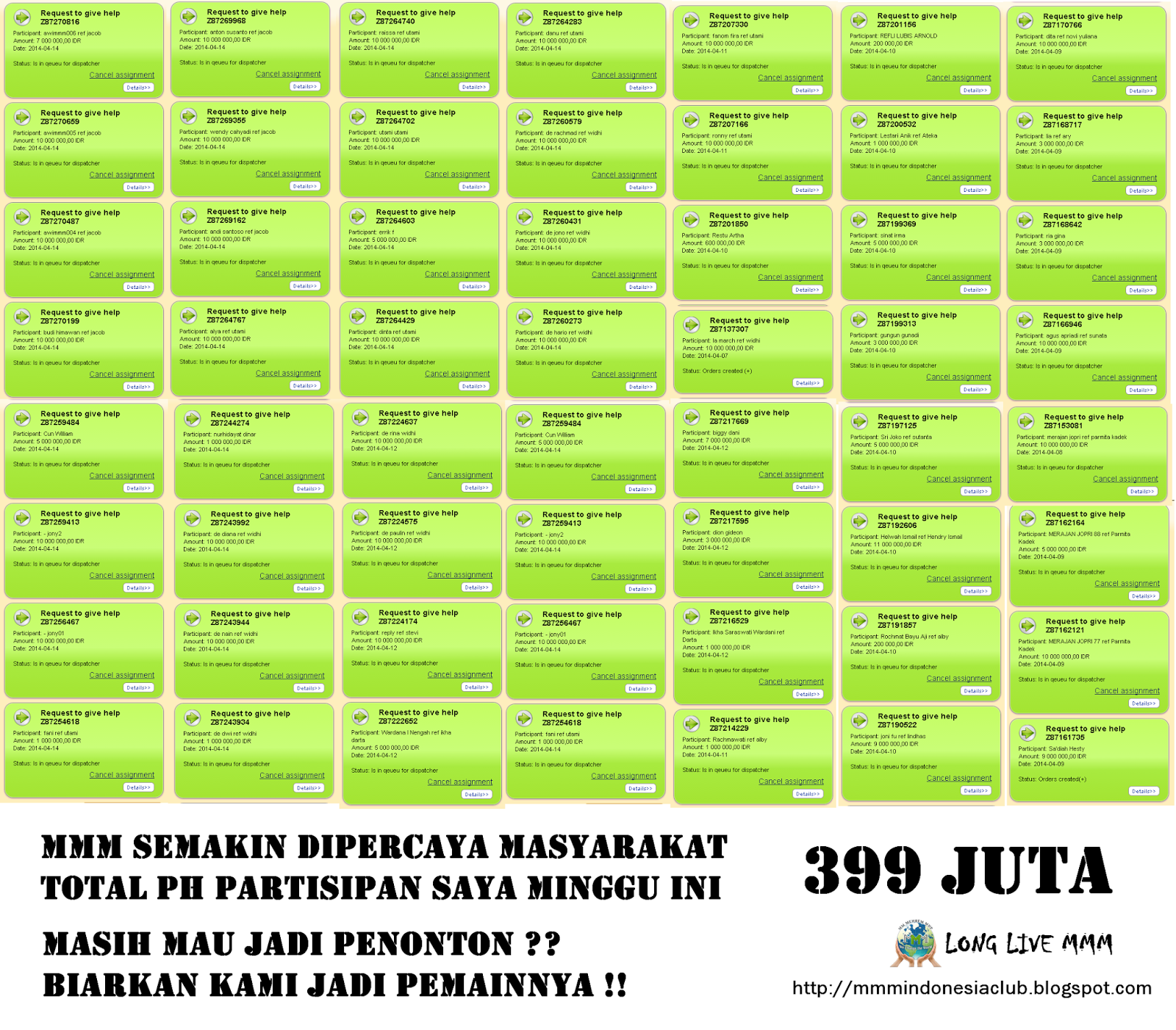 ph total 399 juta
