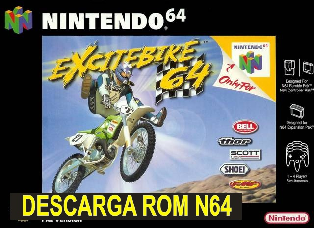 Excitebike 64 n64 descarga rom