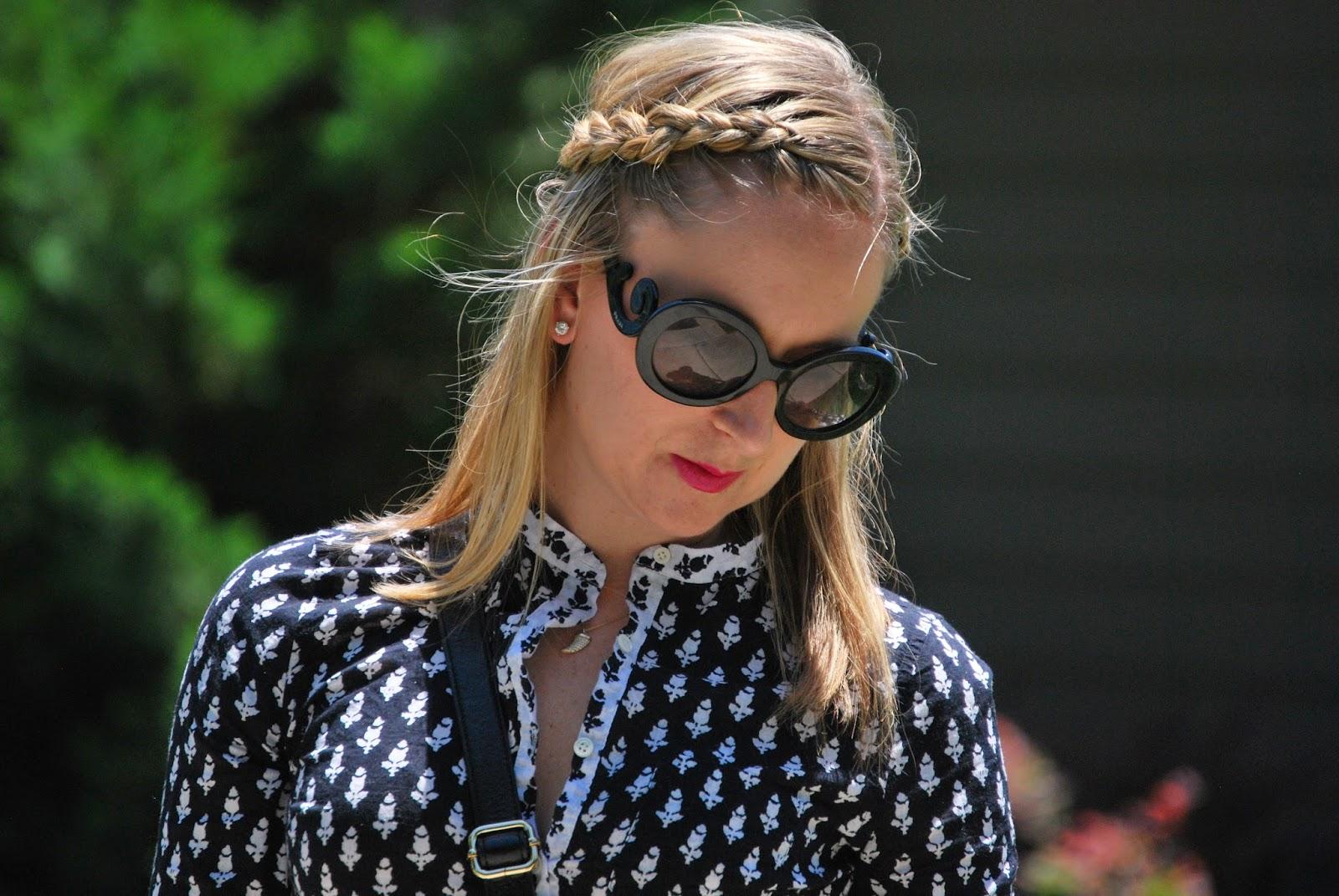 cotton gauze shorts, summer shorts, Charlotte blogger