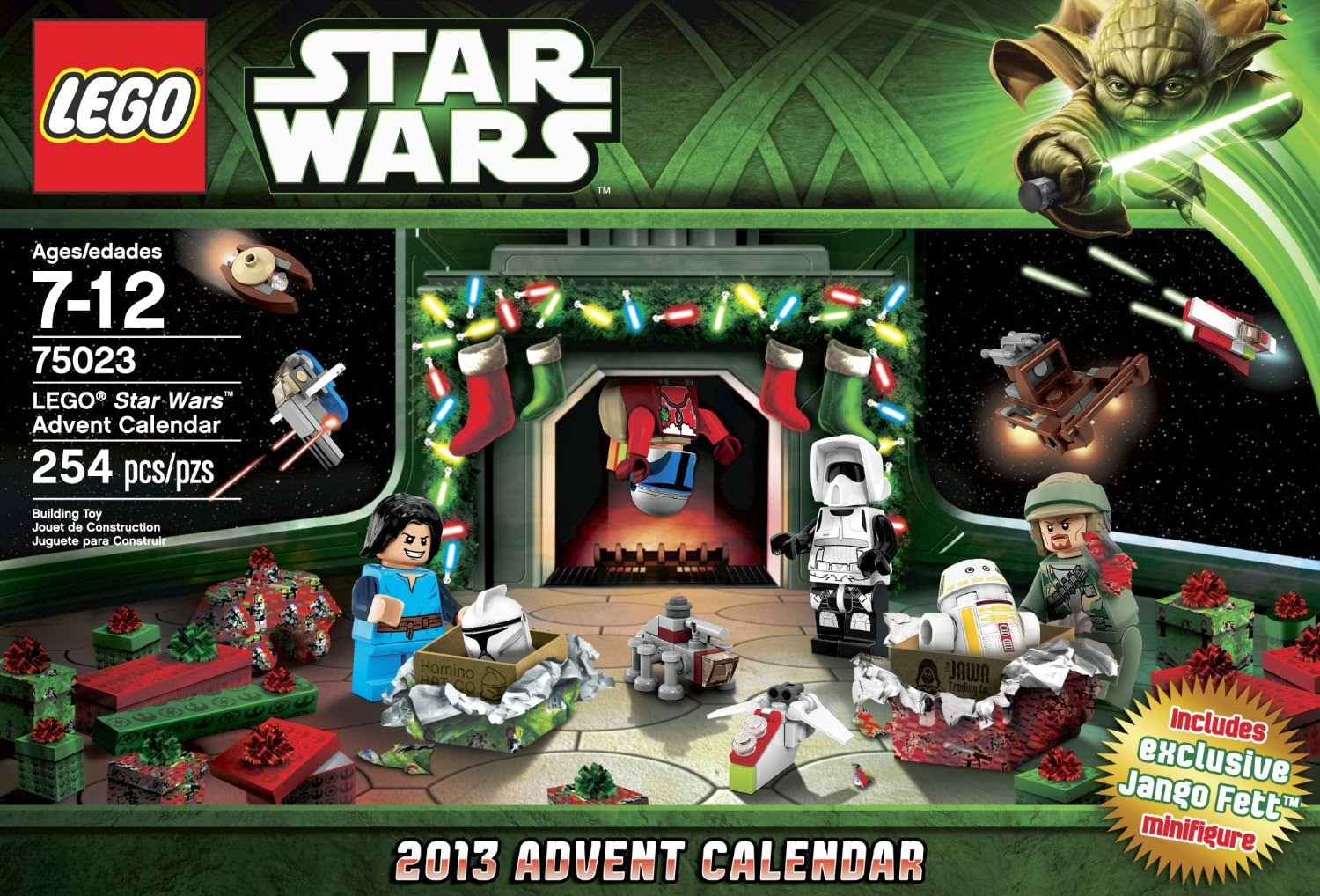 Top 10 Christmas Toys 2013 : Lego star wars advent calendar best and top toys