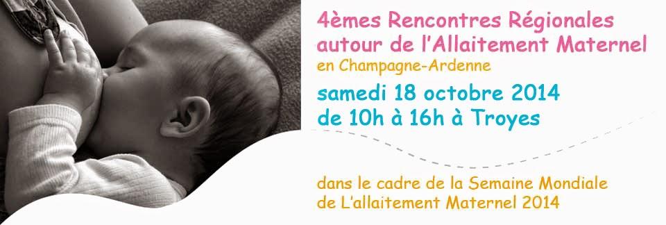 Rencontres Régionales autour de l'Allaitement Maternel en Champagne-Adennes