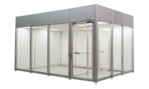 Plexiglass Soft wall Cleanroom Booth