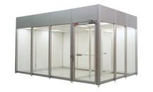 Plexiglass Soft wall Cleanroom Booth