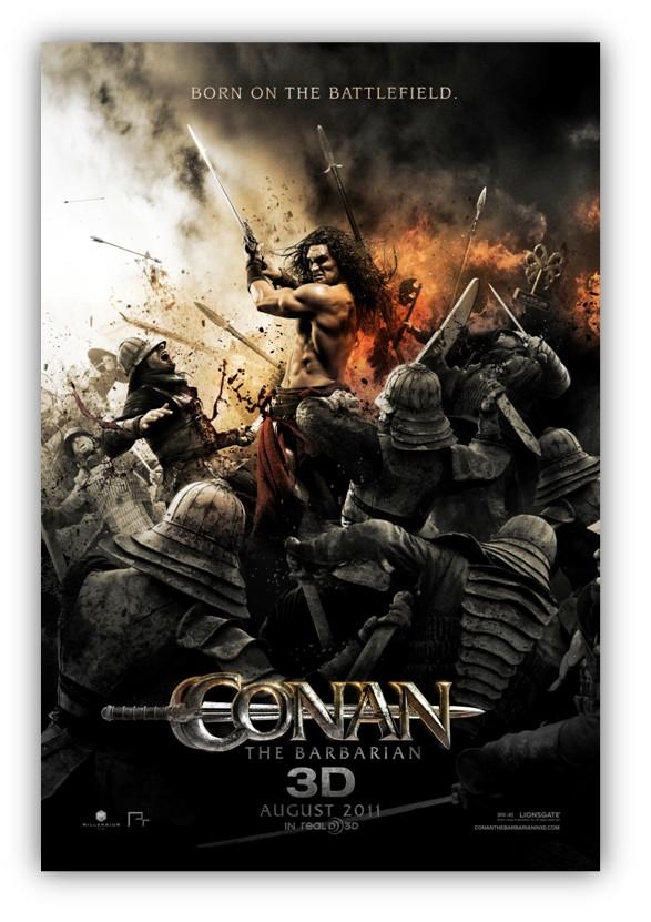 conan the barbarian poster. New CONAN THE BARBARIAN Poster