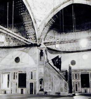 rostrum of soliman mosque