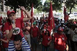 MST faz protesto no Rio