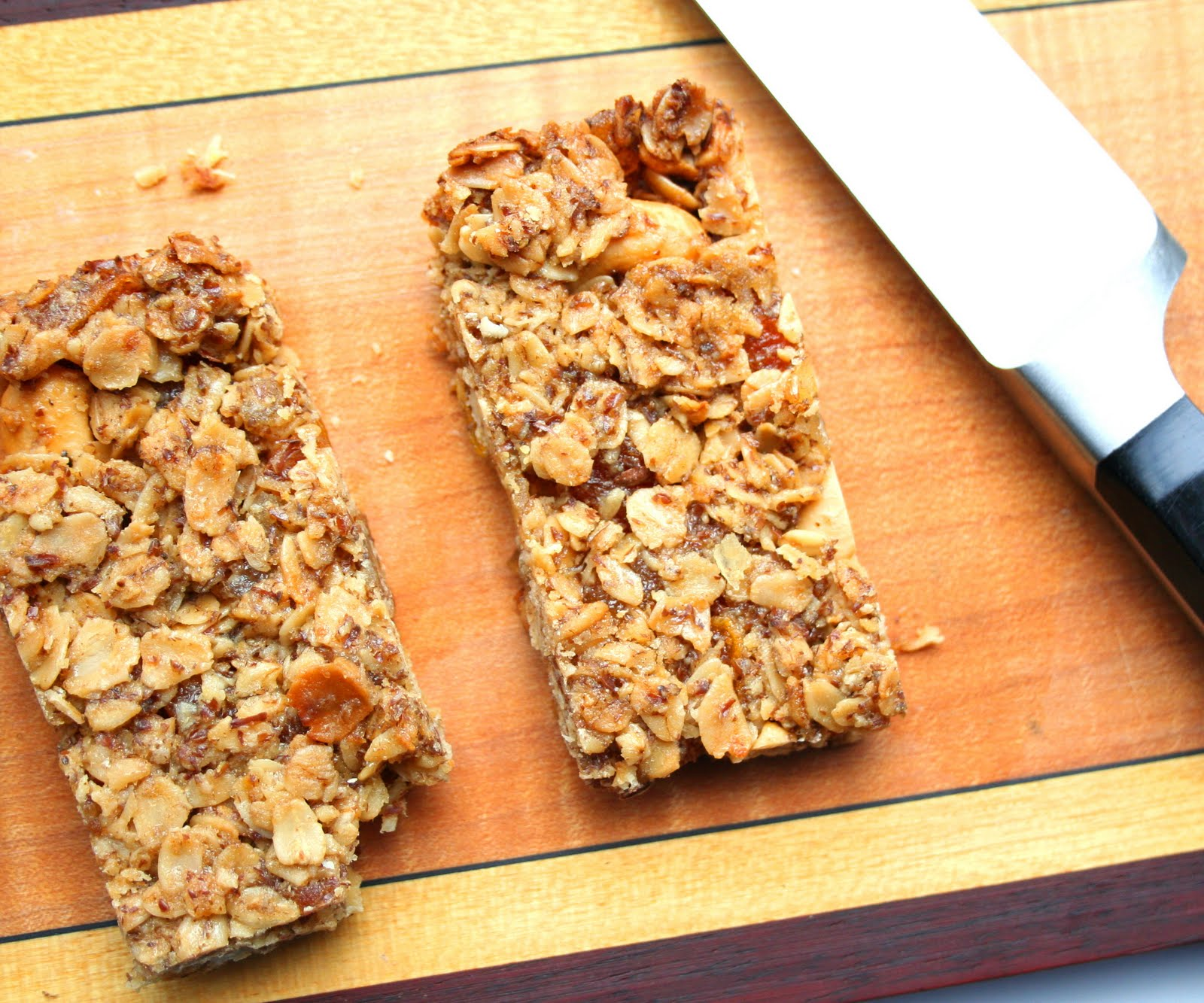 Ginger Cashew Granola Bars   All Day I Dream About Food