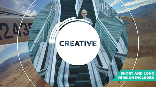 VideoHive Be Creative - Fast Dynamic Opener