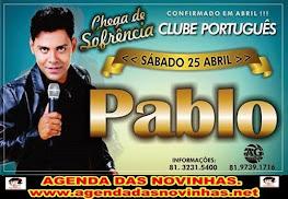 PABLO NO CLUBE PORTUGUÊS DO RECIFE.