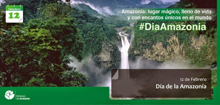 12 de febrero - Día de la Amazonia