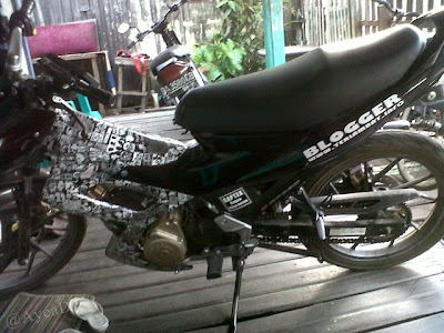 Cutting Satria F terbaru 2012