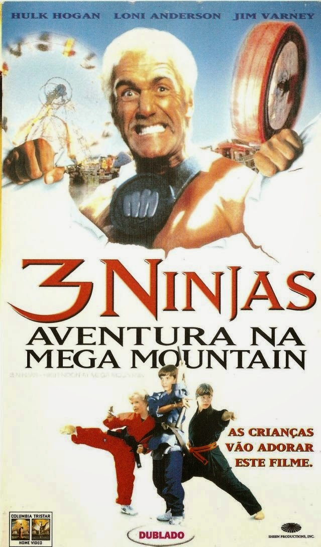 3 Ninjas: Aventura na Mega Mountain – Legend
