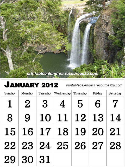 See Free Calendars and Blank Calendars Planners2012 : Printable 2012 ...